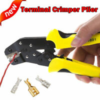 Crimping Tool Pliers For Non-insulated Terminal Cutting Wires Stripper Crimper