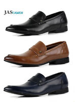 Mens Formal Slip On Work Loafers Smart Dress Shoes Casual Office Designer Size