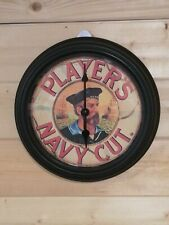 Players Navy Cut Cigarettes Advertising Wall Clock