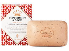Nubian Heritage Soap Bar, Peppermint and Crushed Almonds, 5 oz - Pack of 6