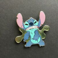 Deluxe Pin & Red Lanyard Starter - Stitch Growling Only Disney Pin 60875