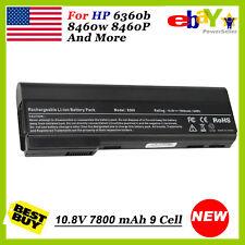 9Cell Battery for HP ProBook 6360b 6460b 6465b 6470b 6475b 6560b 6565b 6570b USA