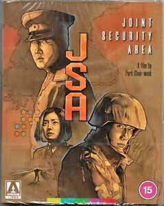 Jsa - Joint Security Area Blu Ray (With Booklet) Region B Inc Registered Post