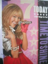 7 Today Time to Shine(Hannah Montana with Door Hanger) Card
