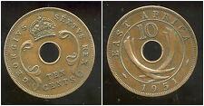 AFRIQUE de L'EST  10 cents 1951 ( british colony )