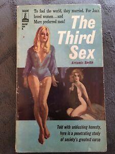 Vintage Lesbian Pulp Fiction Paperback PB - The Third Sex - Sleaze Beacon