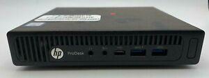 HP ProDesk 600 G2 Desktop Mini PC ,NO CPU, NO RAM NO HDD NO PSU => OFFERS OKAY