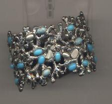 Cuff Bracelet Chicos Turquoise Crystal