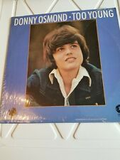 PLAY TESTED THE OSMONDS DONNY TOO YOUNG EX. VINYL RECORD WE MAIL 5 LPS 4 $5.50