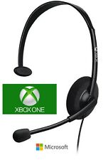 Original Microsoft Chat Gaming Headset for Xbox One Slim Headphone for Xbox One