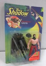 The Shadow lot of 5 action figures (Kenner '94) Ninja, Ambush, Electronic +2