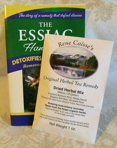 ESSIAC: RENE CASSIE'S ORIGINAL HERBAL TEA REMEDY! DRY PACKET = 2-4 WEEK SUPPLY!