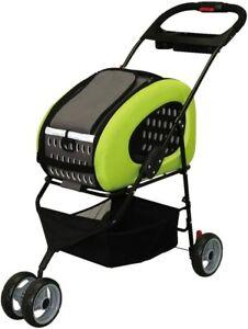 Brand Iris Ohyama 4Way Pet Cart Green Fpc-920 From Japan New