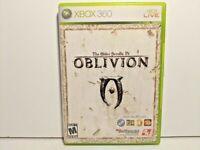 The Elder Scrolls IV: Oblivion Xbox 360 Game - Complete w/ Manual (No Map)
