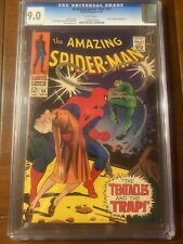 AMAZING SPIDER-MAN #54 11/67 CGC 9.0 WHITE NICE HIGH GRADE BOOK!!
