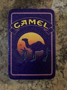 Vintage Joe Camel Cigarettes Metal Tin Collectible Box - 1994