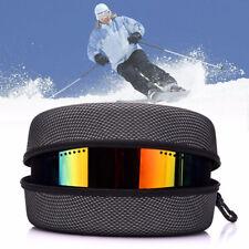 1PCS Zipper EVA Ski Snowboard Goggles Glasses Hard Case Holder Box Storage case