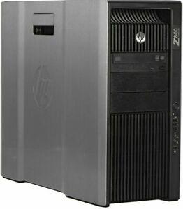 HP Z800 Workstation 2x Intel Xeon X5670 12 CORE 96GB RAM DDR3 RAM 256GB SSD 4TB