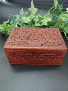 Triquetra Wooden Box