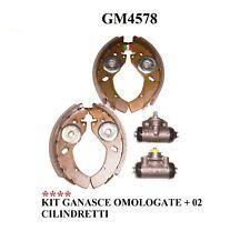 GANASCE OMOLOGATE IN KIT+ 02 CILINDRETTI GM4578
