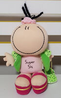 BUBBLEGUM PEOPLE SUPER SIS DOLL PLUSH TOY! SOFT TOY ABOUT 19CM TALL KIDS TOY!