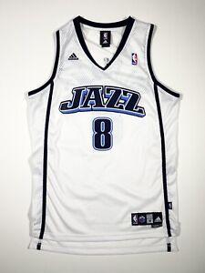 Deron Williams Utah Jazz Swingman Jersey Adidas White MINT CONDITION