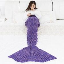 Adults Mermaid Tail Blanket Mermaid Sleeping Bags for Teenage Girl Birthday Gift
