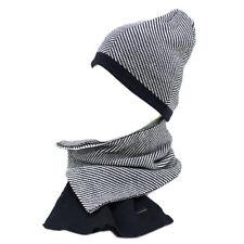 Set Sciarpa e cappello uomo 100% ACRILICO COORDINATI LAURA BIAGIOTTI 21340  navy 83e614f4494d
