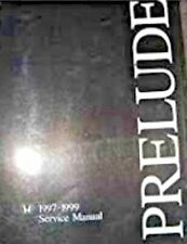 HONDA PRELUDE 1997-1999 Service Manual e Book *** SPECIAL OFFER ***