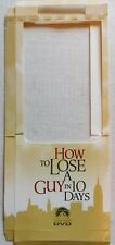 "EMPTY DVD MOVIE LONGBOX–""HOW TO LOSE A GUY IN 10 DAYS""–LONG BOX ONLY-NO DVD/CASE"