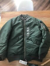 BEAMS PLUS SHELL DOWN BOMBER JACKET Size XL New 800 Fill Power Down