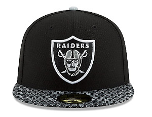 New Era 59Fifty Hat Oakland Raiders NFL On Field Sideline Black Fitted Cap 7