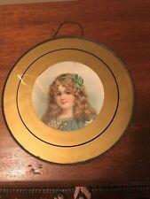 Victorian Girl Framed Flue Cover