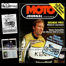 MOTO JOURNAL N°375 TRIAL ULF KARLSSON HONDA CM 125 T KAWASAKI Z 1000 ST 1978