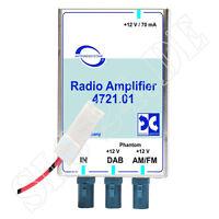 ABB 4721.01 Universal DAB DAB+ AM/FM Antennenverstärker mit Antennenweiche FAKRA