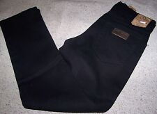 WRANGLER jeans TEXAS Denim Stretch Black Tg.W44L34 Nero Elasticizzato