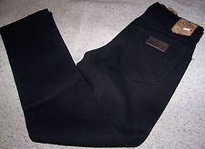WRANGLER jeans TEXAS Denim Stretch Black Tg.W46 L34 Elasticizzato Col.Nero