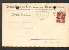 """HAGUENAU (67) QUINCAILLERIE AU LION """"Maison J. LOEB"""" en 1925"""