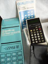 Calculator Qualitron 2450R Scientific Vintage VFD - Boxed NEW    .. A4