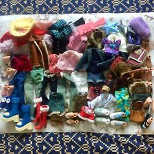 Bratz Doll Bundle Mixed Clothes Shoes Accessories Ect