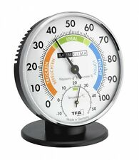 PRÄZISIONS-HYGROMETER  Klimakurt Zimmer-Thermometer TFA 45.2033 Raum-Hygrometer