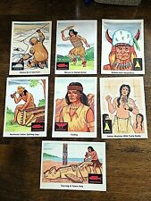 INDIA TRADING CARDS 7 CARD LOT