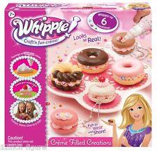 WHIPPLE Craft'n fun CREME FILLED CREATIONS SET Baking Cooking Desert Toy