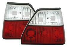 Neu VW Golf 2 RV06 Kristall Rückleuchten Rot/Weiß