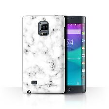STUFF4 Case/Cover for Samsung Galaxy Note Edge/N915/Marble Rock Granite Effect