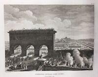 Champs de Mars Paris 14Juillet 1790 Fête de la Fédération Révolution Française