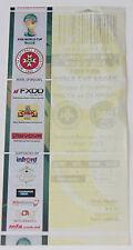 Ticket for collectors World Cup q * Malta - Denmark 2013 in Ta'Qali
