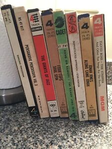 LOT OF 8 REEL TO REEL TAPES, Jazz, Four Tops, Ramsey Lewis  & MORE Tested