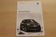 73050) VW Touareg 7P - Preise & Extras - Prospekt 02/2010