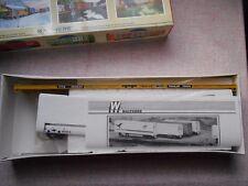 WALTHERS 89' F89F TOFC FLAT CAR HO GAUGE TRAILER TRAIN PLASTIC KIT NIB